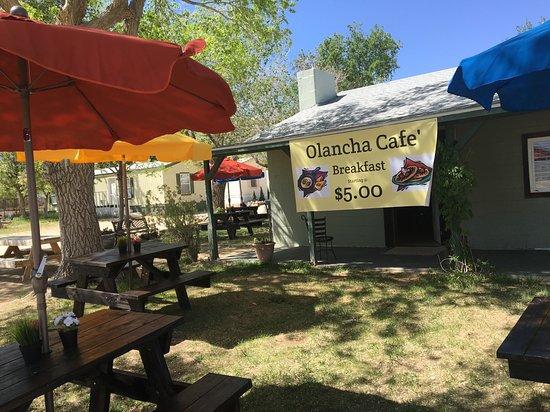 Olancha Cafe' Outside