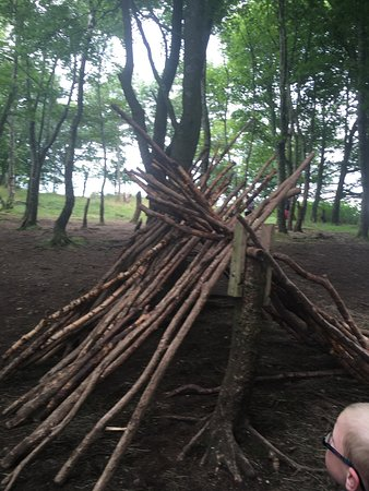 Y Felinheli, UK: Den building