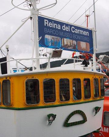 "Barco Museo Boniteiro ""Reina del Carmen""."