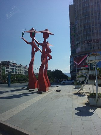 Suichuan County, Çin: Theevrouwtjes van Suichuan