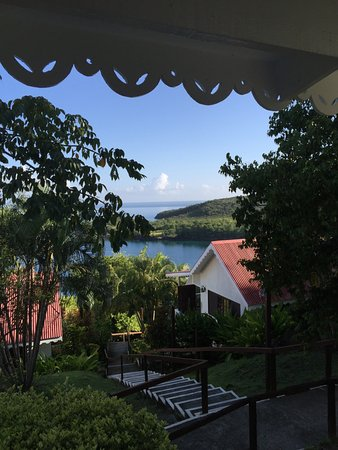 "Ti Kaye Resort & Spa: View from my room -- ""Klaklak"""
