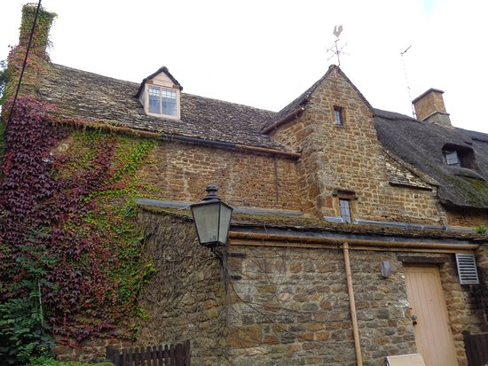 Chipping Norton, UK: Our Room up Under the Eaves