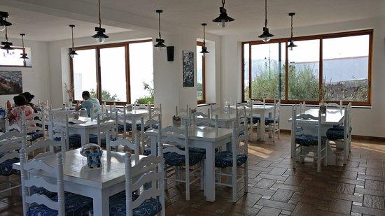 Santa Marina Salina, Włochy: sala colazione
