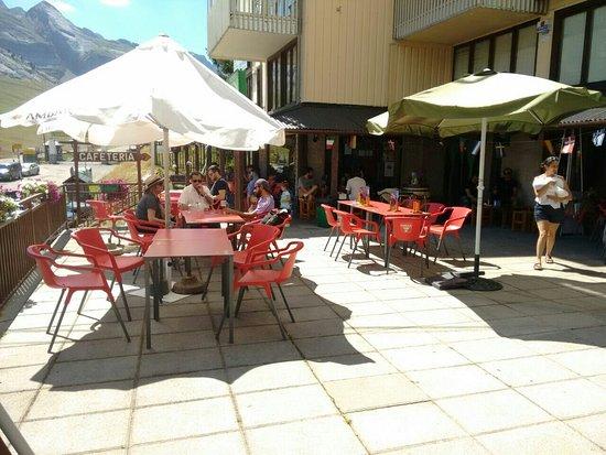 Candanchu, Espagne : Hermoso lugar, muy rica comida