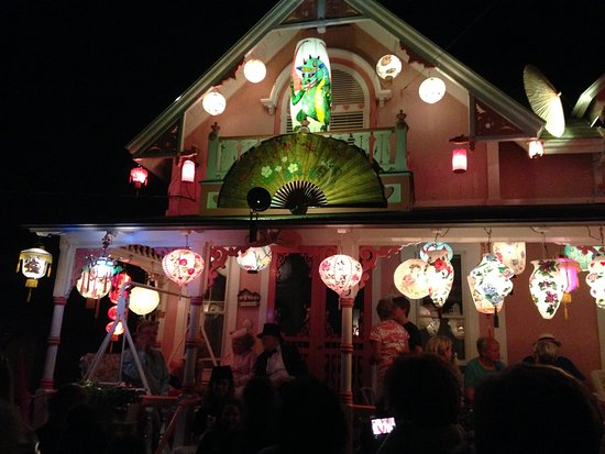 Oak Bluffs, MA: Illumination Night August 17, 2016