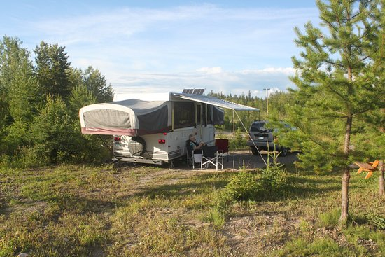 Prince George, Canada: Very pleasant camping