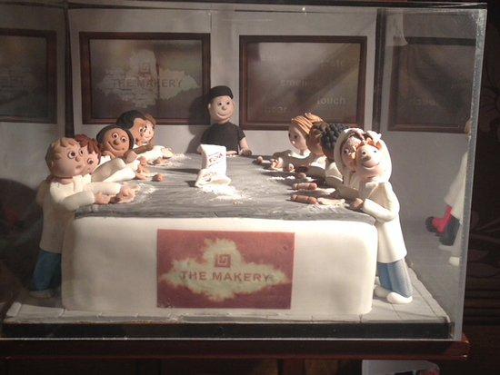 Rickmansworth, UK: Model cake