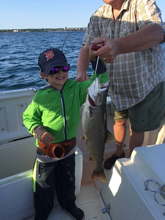 Reel fun fishing charters traverse city 2018 all you for Michigan city fishing charters
