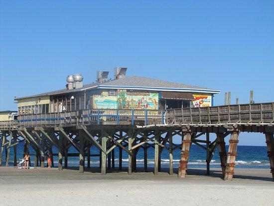 Restaurant At Low Tide Crabby Joes Daytona Beach