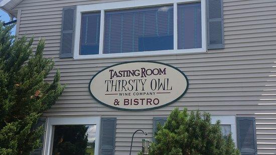 Ovid, État de New York : Entrance to Tasting Room