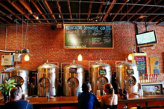 Ventura County Coast, CA: Anacapa Brewing Company in Ventura.
