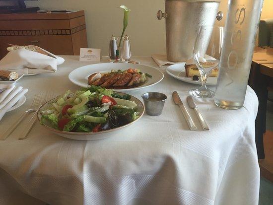 Mandarin Oriental, Boston : Room service. Delicious.