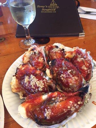 Marshall, Калифорния: The best! Enjoy with some Oyster Bay Sauvignon Blanc