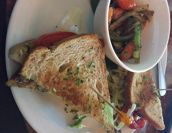Indialantic, FL: Balsamic Roasted Eggplant Sandwich