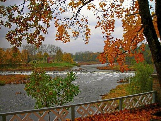 Kuldiga, Letland: Самый широкий водопад в Европе