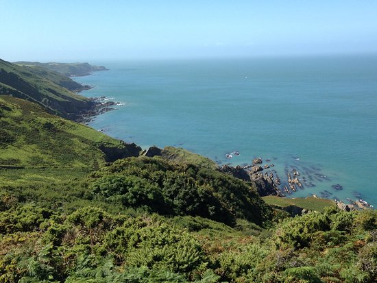 Ilfracombe, UK: South west coast view
