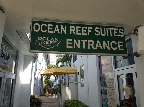 Ocean Reef Suites: Gracias por el buen trato y la hospitalidad
