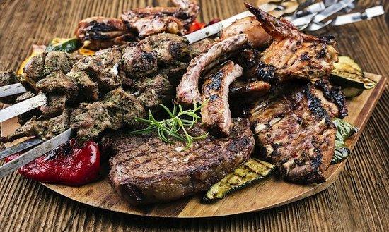 Osteria Del Tempo Perso: grill