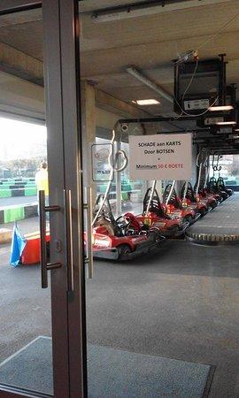 Middelkerke, Belgium: De karting
