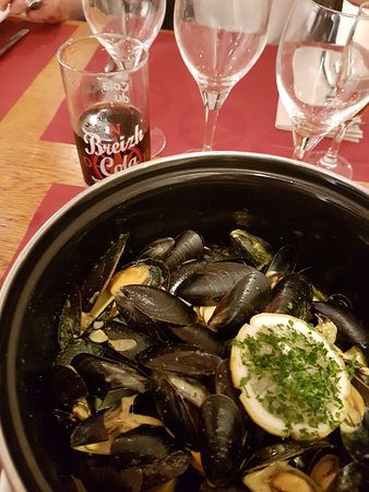 Bono, Francia: Moules au curry
