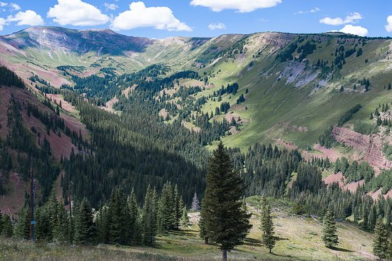 Snowmass: View from the Elk Camp summit.