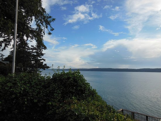 Camano Island, Etat de Washington : View from our room