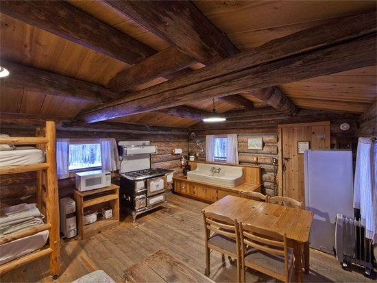 Clark, CO: Burton Cabin Interior