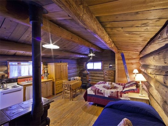 Clark, CO: Skiers Cabin Interior