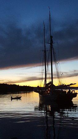 Ρόκλαντ, Μέιν: Sunset silhouette. Stunning!