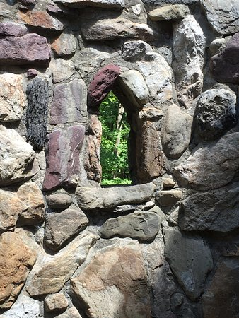 Columcille Megalith Park: inside the building