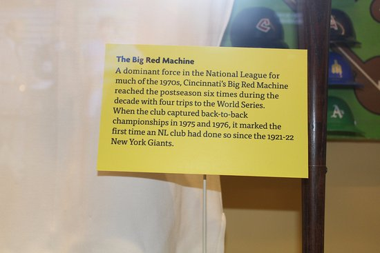Cooperstown, NY: The Big Red Machine