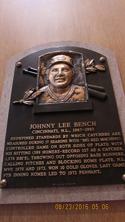 Cooperstown, NY: Johnny Bench