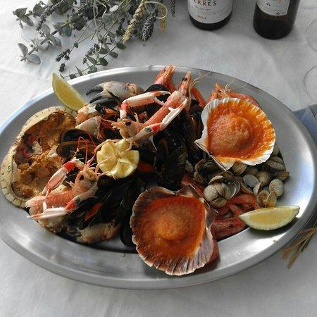 Restaurante Mariscador: Buenisimo.un placer para la vista y el buen comer