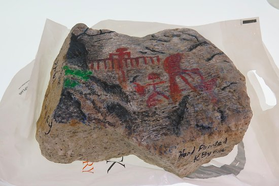 Penticton, Kanada: Rock Art (reproduction)
