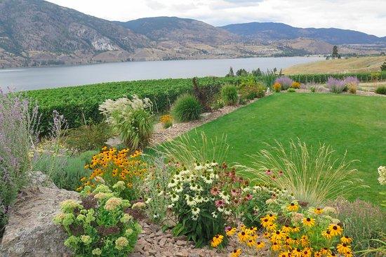 Penticton, Canadá: Garden view