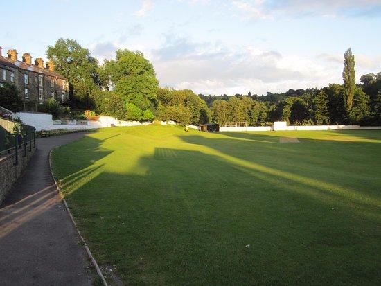 Hayfield CCC a beautiful village cricket pitch