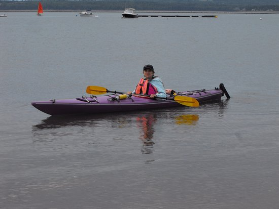 Saint Andrews, Canadá: Me in the kayak rented at Eastern Outdoors.