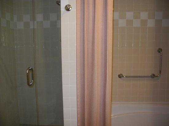 Hotel Eldorado: bath tub and separate shower