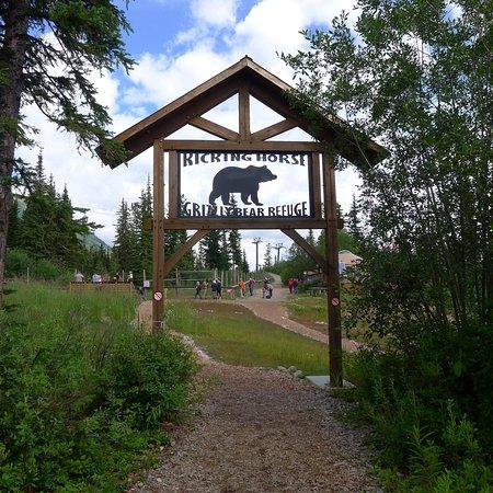 Golden, Kanada: Entrance to Bear Refuge