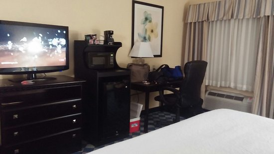 Worthington, OH: Great rooms that are comfortable and very clean.