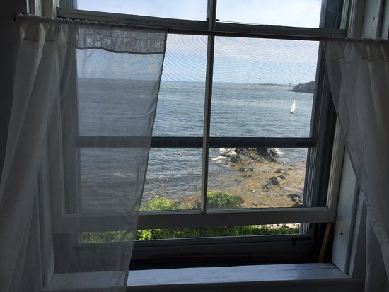 Peaks Island, ME: View from Room 9!
