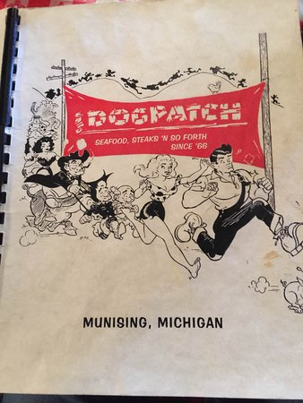 Dogpatch Restaurant: Cover of multipage menu