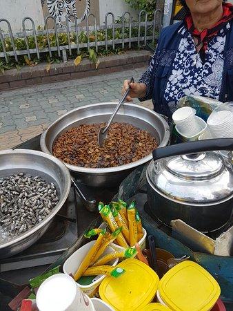 tradizionale market coreano