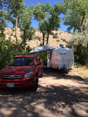 Оджо-Кальенте, Нью-Мексико: Our RV site