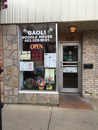 Medicine Hat, Canadá: Bao Li Noodle House