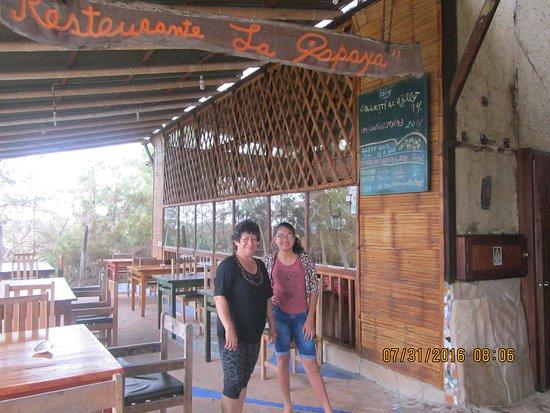 Zorritos, Perù: Lugar donde se desayuna
