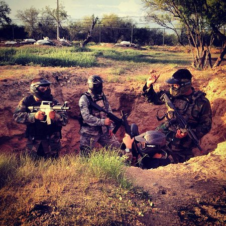 Desert Falcon paintball