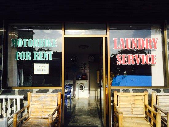 Ao Nang Baan Suan Resort: Other services :)