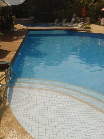 Corais e Conchas: piscina maior dia