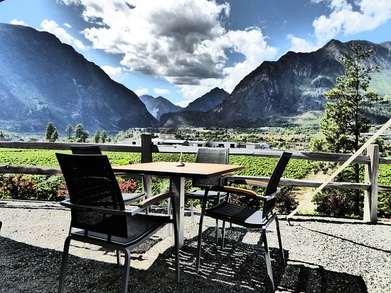Lillooet, Kanada: Wouldn't you rather be here?